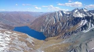 Loch Nagar and Shotover from Richardson range