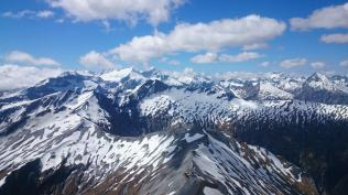 Mt Pollux and Mt Alba