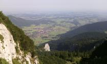 The Bavarian flats from Kampenwand
