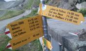 Familiar area - the gravel pit of the Haute Route