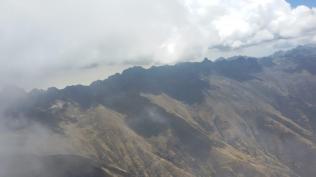 Cloud base on the Cordillera Negra
