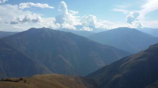 Happy to have landed high above the Apurimac