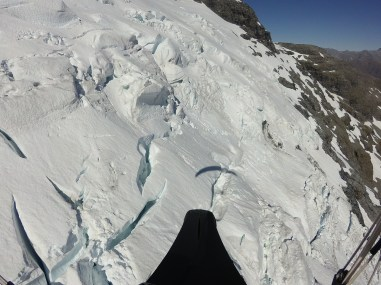 Glacier south face of Earnslaw
