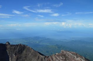 Agung crater, Candidasa and Padang Bai