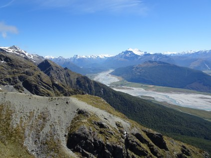 Alfred and Earnslaw from the Humboldt mountains