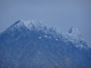 Summer snow on the Remarkables
