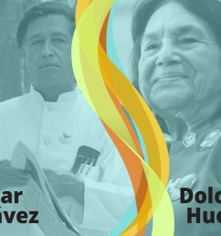 Rights of Farm Workers: Labor Leaders César Chávez and Dolores Huerta   SML [ 900 x 1200 Pixel ]
