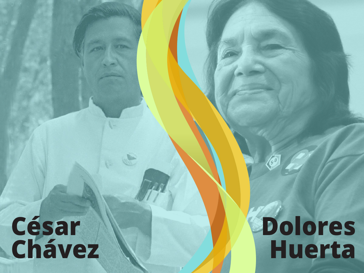 hight resolution of Rights of Farm Workers: Labor Leaders César Chávez and Dolores Huerta   SML