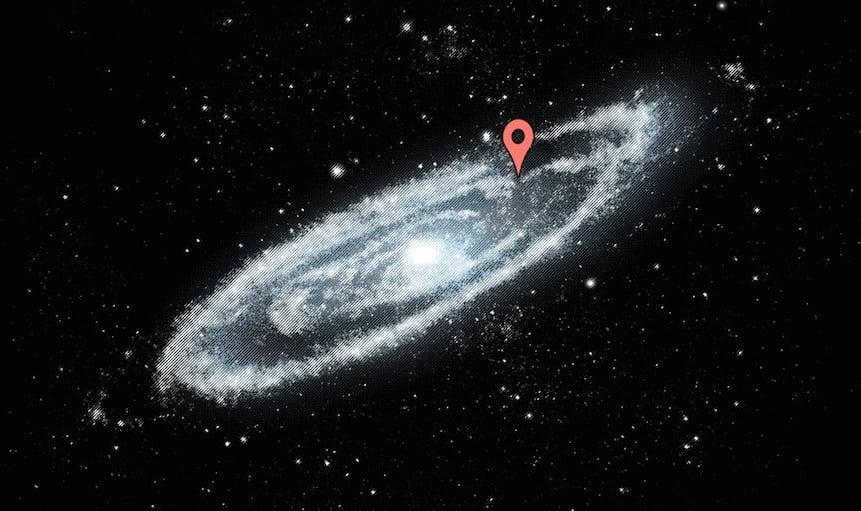 google map trai dat tren thien ha milky way 7