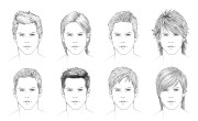 draw hair male sharenoesis