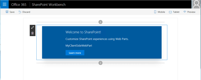 Office 365 - SharePoint - Create a Client Side Web Part using SPFx and CDN 11