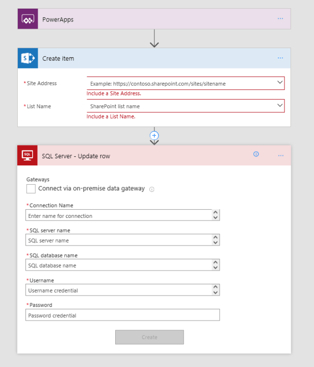 Implementing a State Machine using Microsoft Flow 2