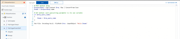 Azure Function Apps - SharePoint lists - Creating web hooks that run PowerShell triggered by item creation Microsoft Azure, Microsoft Office 365 functionurl