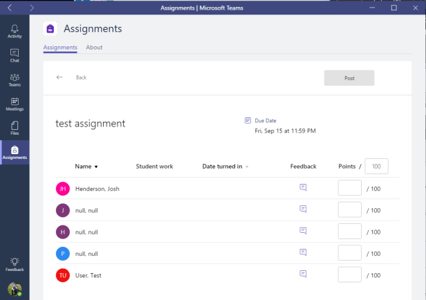 Microsoft Teams - Assignments with guests 5