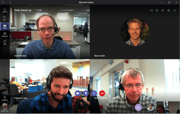 Microsoft Teams - Users without access to a tenant in Video Calls 1