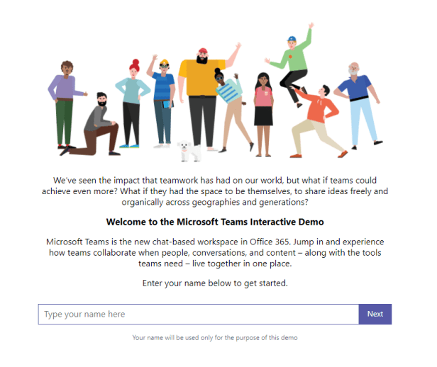Microsoft Teams - Do you want a demo? Don't need to ask me! 1