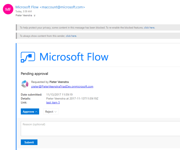 Microsoft Flow- Do you approve? Microsoft Office 365, Microsoft SharePoint, Microsoft SharePoint Online