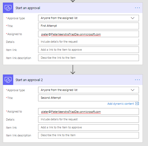 Microsoft Flow - Send out reminders 1