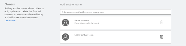 Microsoft Flow - Share your flows with a team Microsoft Flow