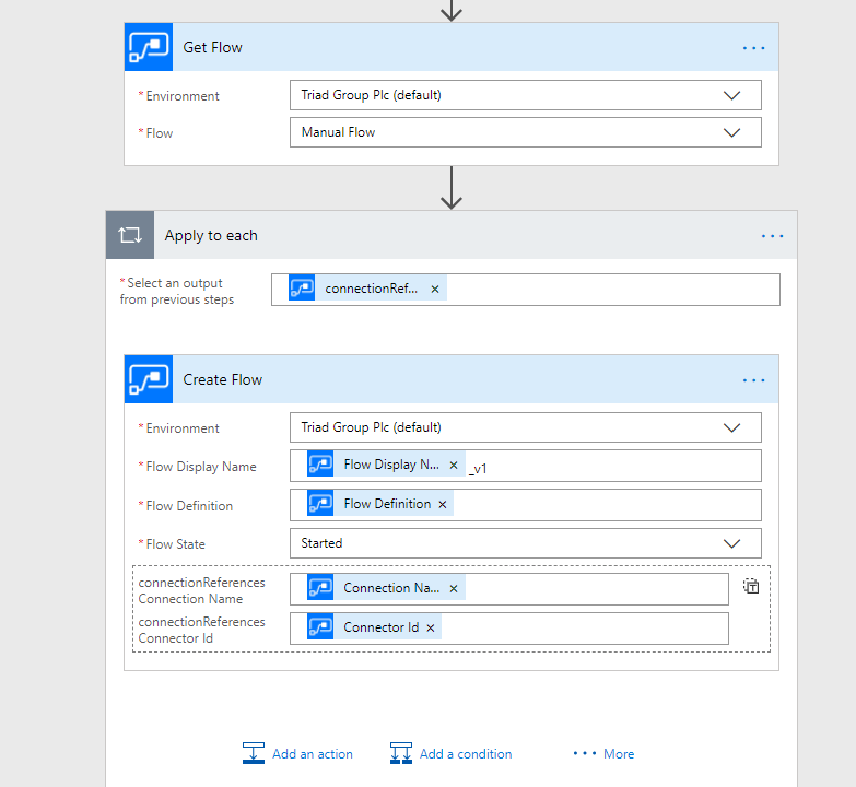 Create multiple versions of a flow in Power Automate 2
