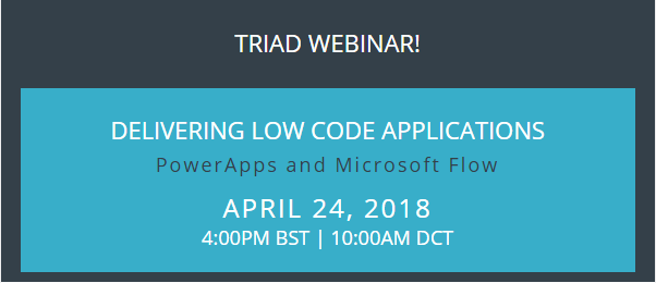 Delivering Low Code Applications with Flow and PowerApps 1