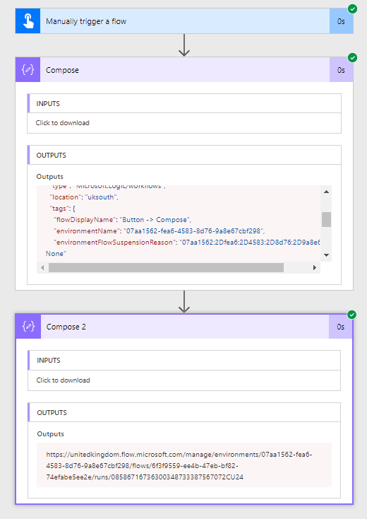 Which flow run is related to my SharePoint list item or document 2