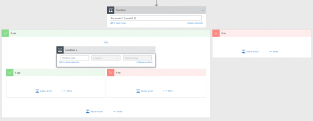 My conditional love in Microsoft Flow 5