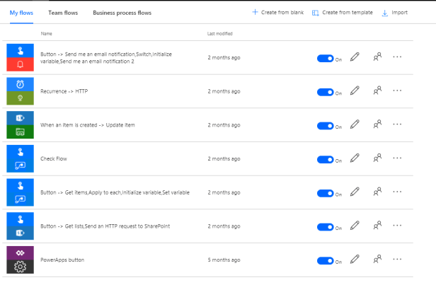 Microsoft Flow - Taking ownership of someone else's flows. 1