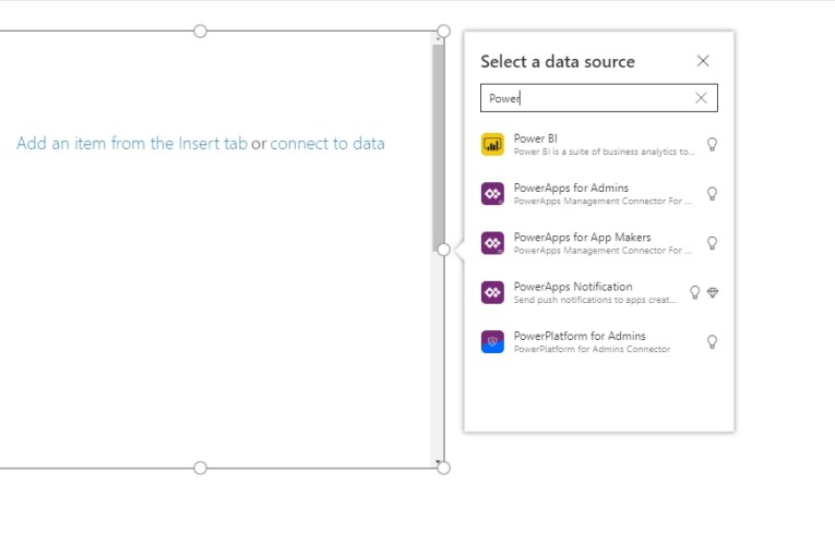 Power Platform for Admins connector in PowerApps