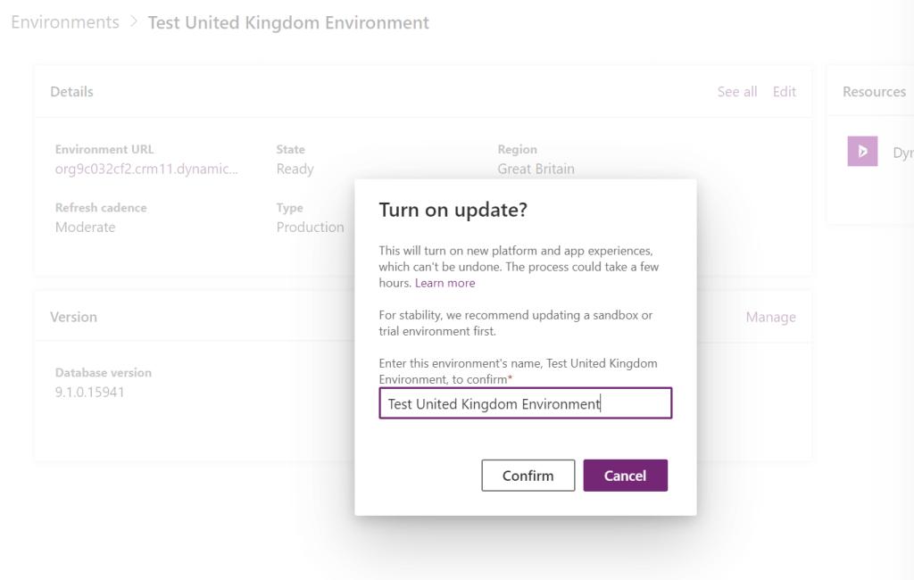 Power Platform updates? Easy with Update Now! 1