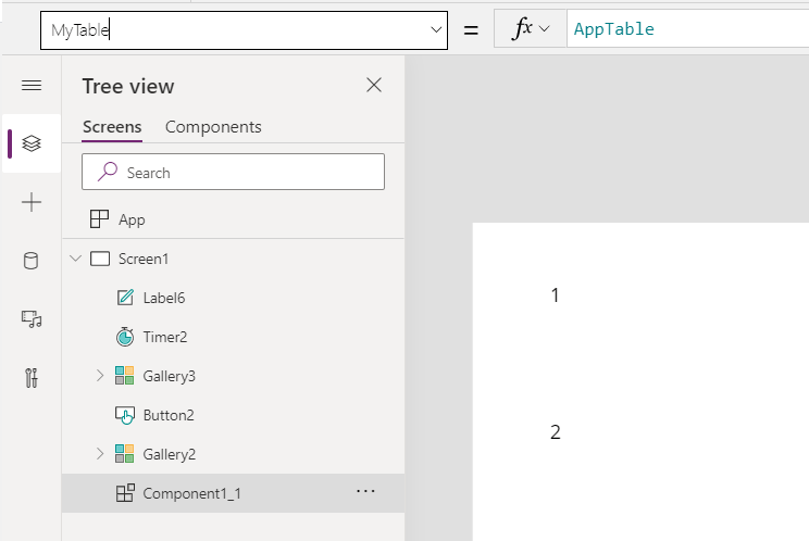 Components and Custom Properties in Power Apps 2