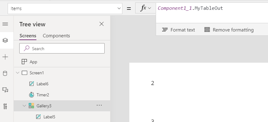 Components and Custom Properties in Power Apps 9