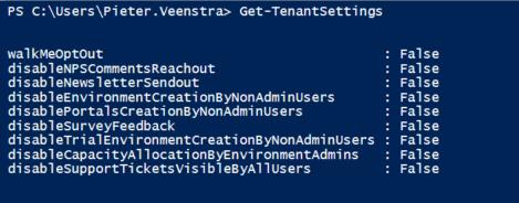 Get-TenantSettings Command