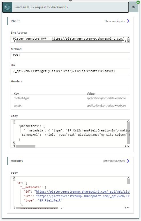 Create a SharePoint list using Power Automate 6
