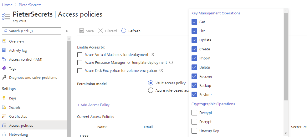 Azure Key Vault and Power Automate 8
