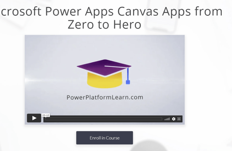 1 Top tip: PowerPlatformLearn.com and master the Power Platform within no time