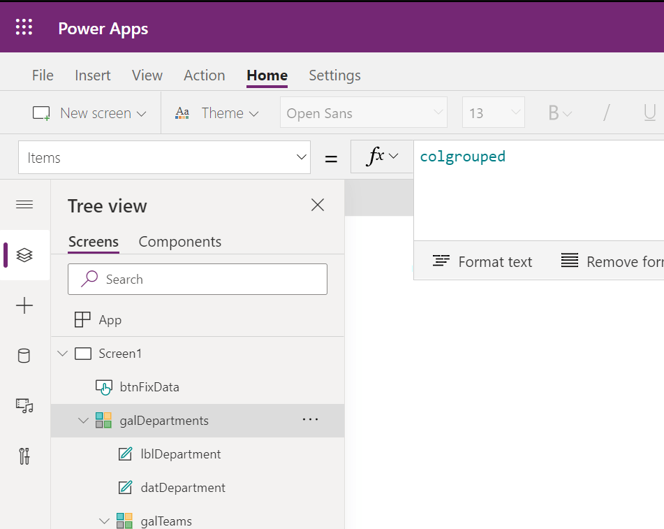 Implementing 2 levels of grouping in Power Apps Microsoft Office 365 image 26