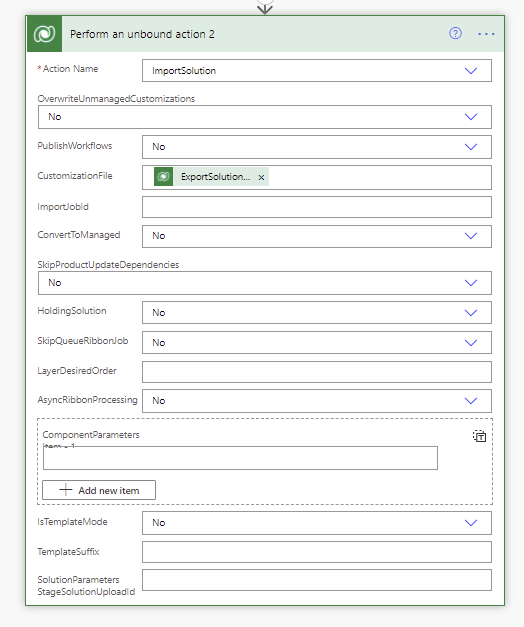 How to export and import solutions using flows in Power Automate Microsoft Office 365, Microsoft Power Automate image 64