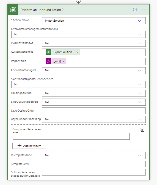 How to export and import solutions using flows in Power Automate Microsoft Office 365, Microsoft Power Automate image 65