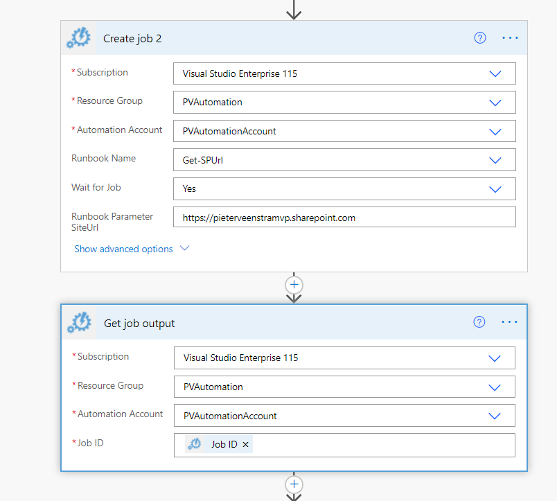 Using PnP PowerShell with Azure Automation Accounts Microsoft Azure, Microsoft Power Automate, Microsoft SharePoint Online image 10