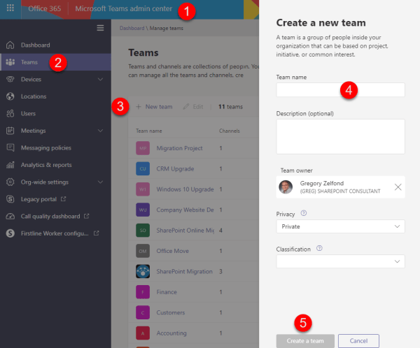 Office 365 Groups Sharepoint Team Sites Maven - Year of Clean Water