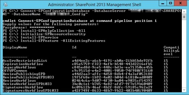 add server to farm powershell