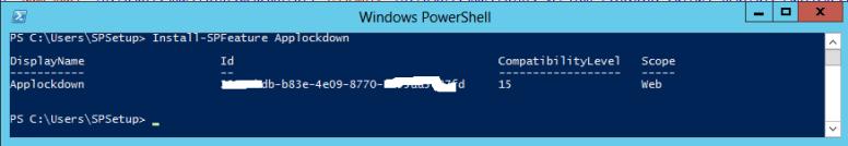 installapplockdownps