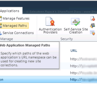 Managed Path sharepoint