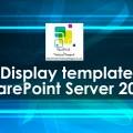 Display template SharePoint Server 2013 1920x1080