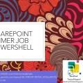 sharepoint timer job view start manage status check history using powershell