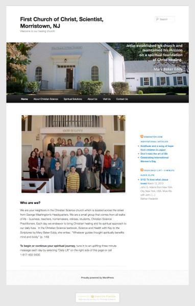 First Church Morristown, NJ