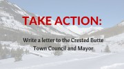 Results of Crested Butte Town Council Meeting