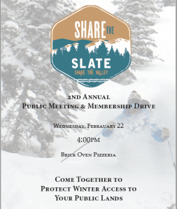 Share the Slate Annual Meeting 2017