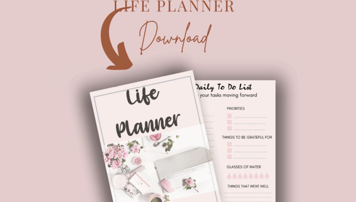 Life Planner Freebie